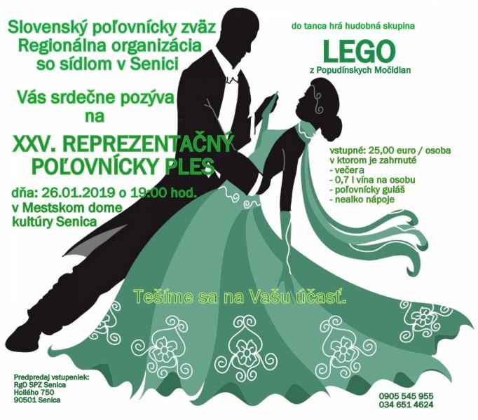 1003266cd XXV. Reprezentačný poľovnícky ples   Mesto Senica – oficiálne stránky